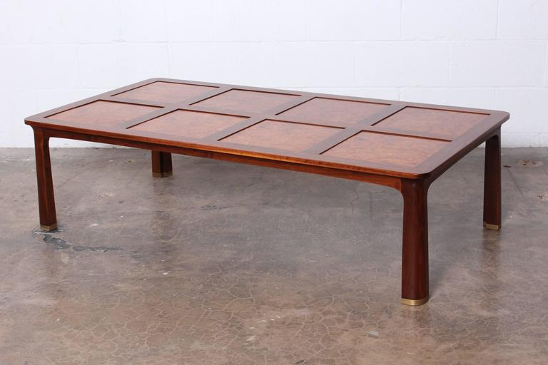 Large Coffee Table by Edward Wormley for Dunbar For Sale 4
