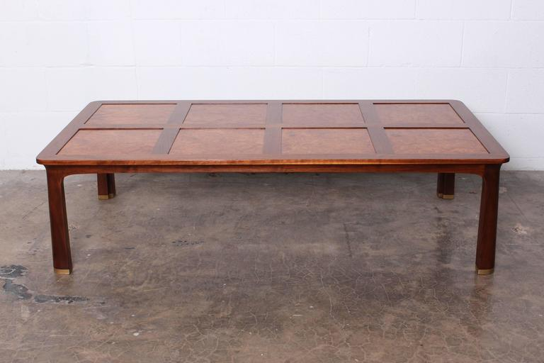 Large Coffee Table by Edward Wormley for Dunbar For Sale 5