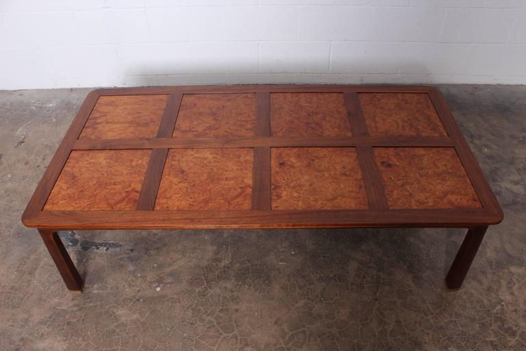 Large Coffee Table by Edward Wormley for Dunbar For Sale 6