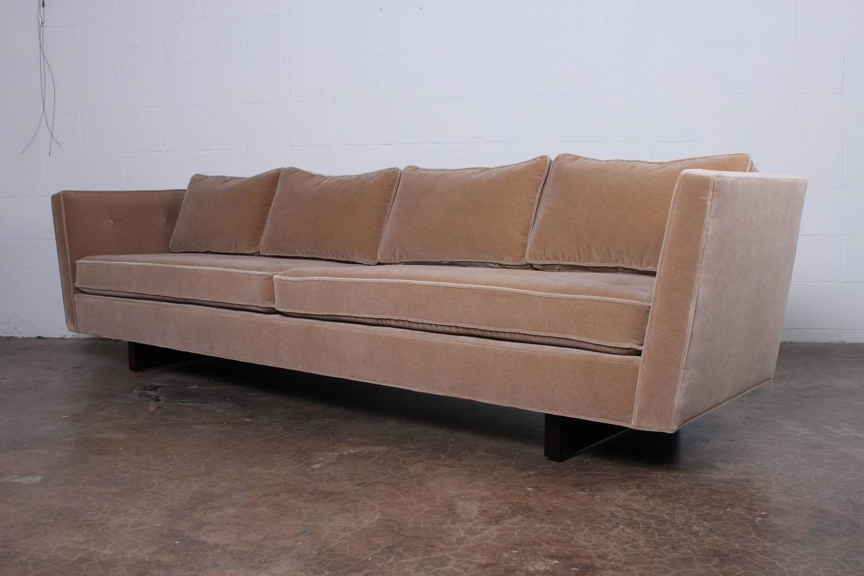 Split Arm Sofa By Edward Wormley For Dunbar At 1stdibs