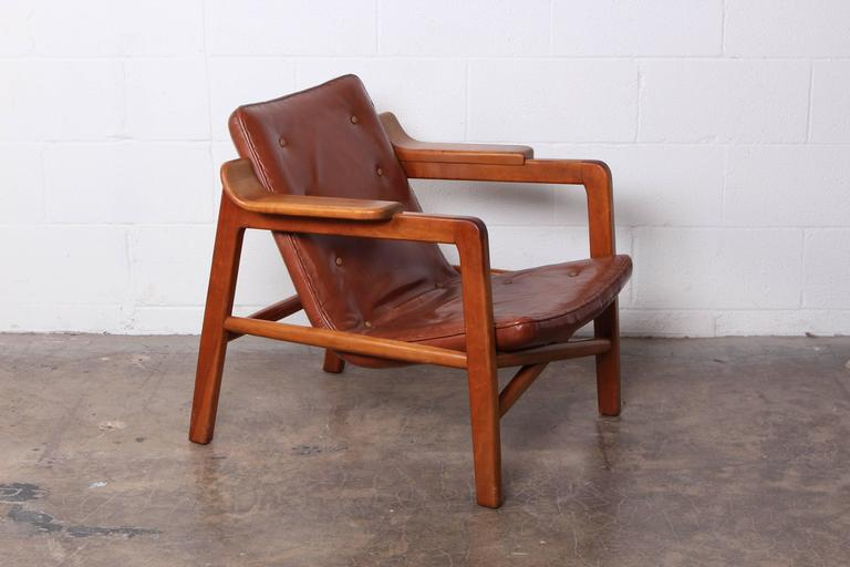 tove and edvard kindt larsen 39 fireplace 39 lounge chair in