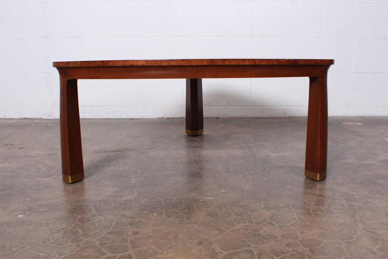 Triangle Coffee Table by Edward Wormley for Dunbar In Good Condition For Sale In Dallas, TX