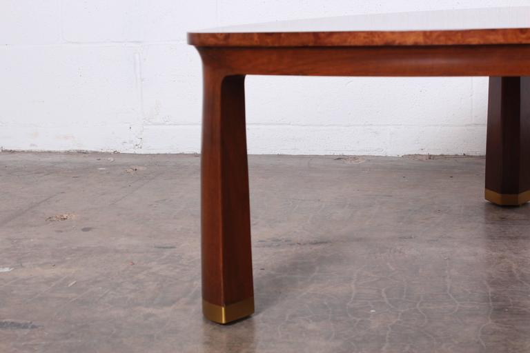 Triangle Coffee Table by Edward Wormley for Dunbar For Sale 1