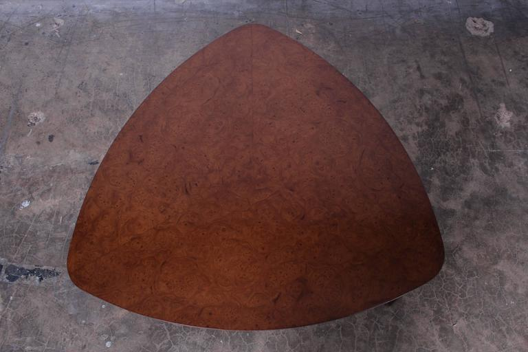 Triangle Coffee Table by Edward Wormley for Dunbar For Sale 3