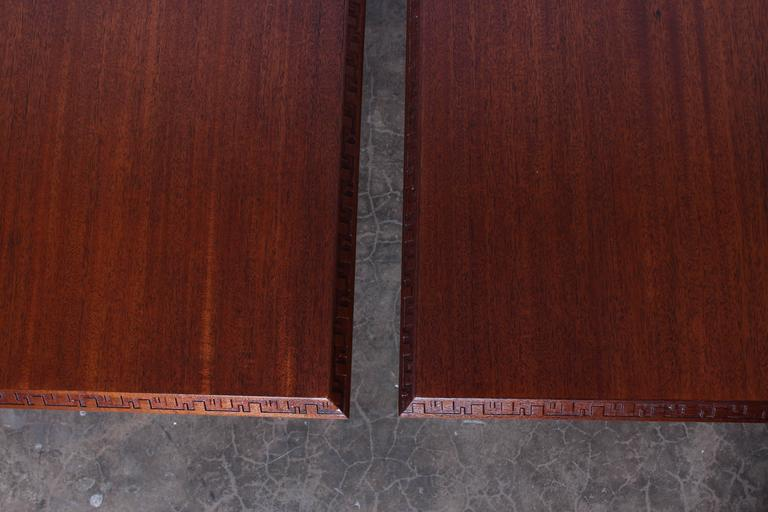 Pair Of Frank Lloyd Wright Tables For Heritage Henredon