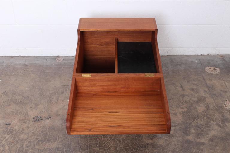Hans Wegner Teak Cube Bar For Sale 3