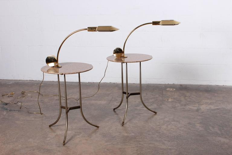 Pair of Side Tables by Cedric Hartman In Excellent Condition For Sale In Dallas, TX