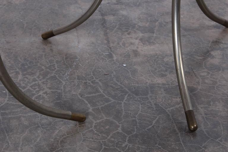 Late 20th Century Pair of Side Tables by Cedric Hartman For Sale