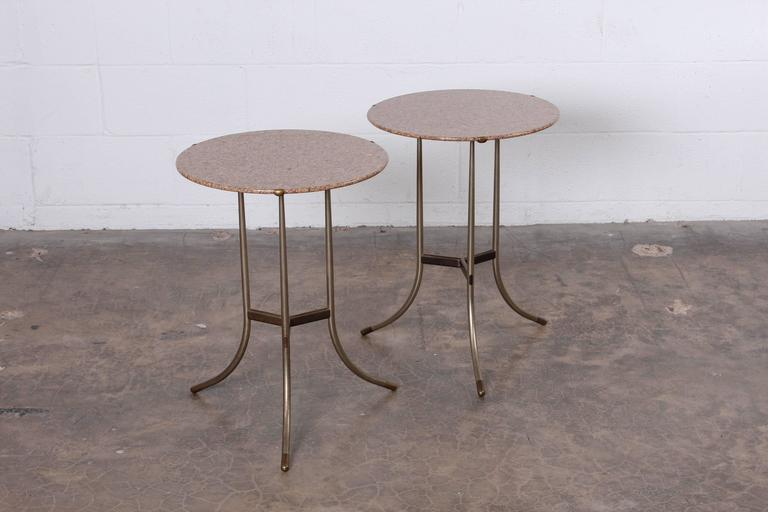 Pair of Side Tables by Cedric Hartman For Sale 1
