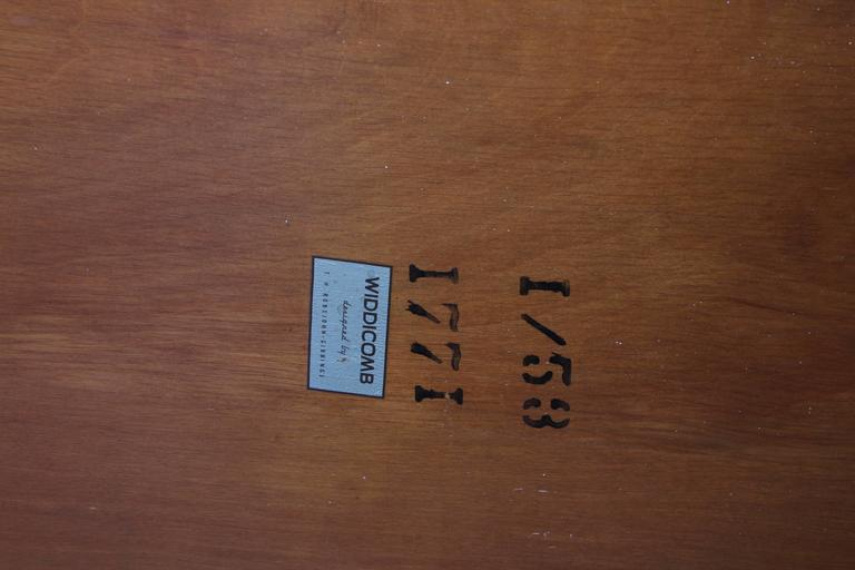 Maple Bench by T.H. Robsjohn-Gibbings for Widdicomb 4