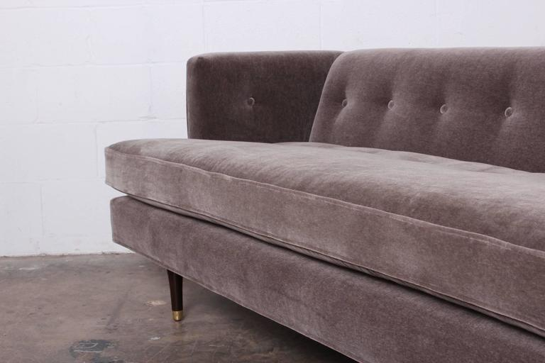 Sofa Designed by Edward Wormley for Dunbar For Sale 2