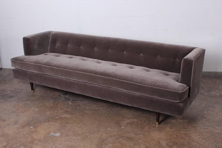 Sofa Designed by Edward Wormley for Dunbar For Sale 3