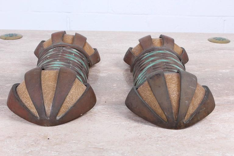 Pair of Sconces by Pepe Mendoza In Good Condition For Sale In Dallas, TX