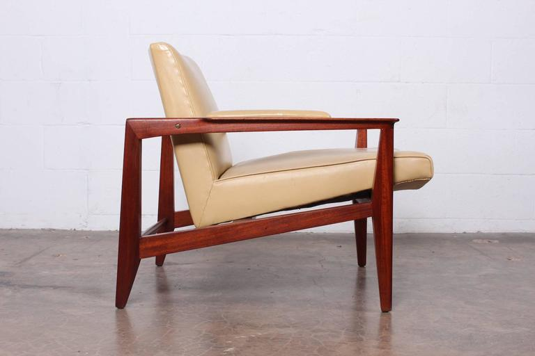 Lounge Chair by Edward Wormley for Dunbar In Good Condition In Dallas, TX