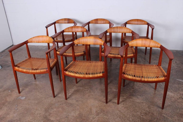 "Set of Eight ""Classic"" Chairs by Hans Wegner for Johannes Hansen 2"