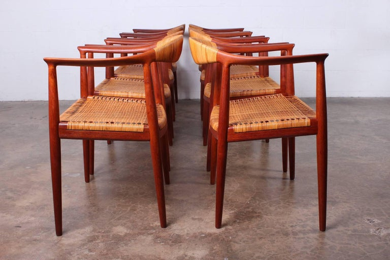 "Set of Eight ""Classic"" Chairs by Hans Wegner for Johannes Hansen 3"
