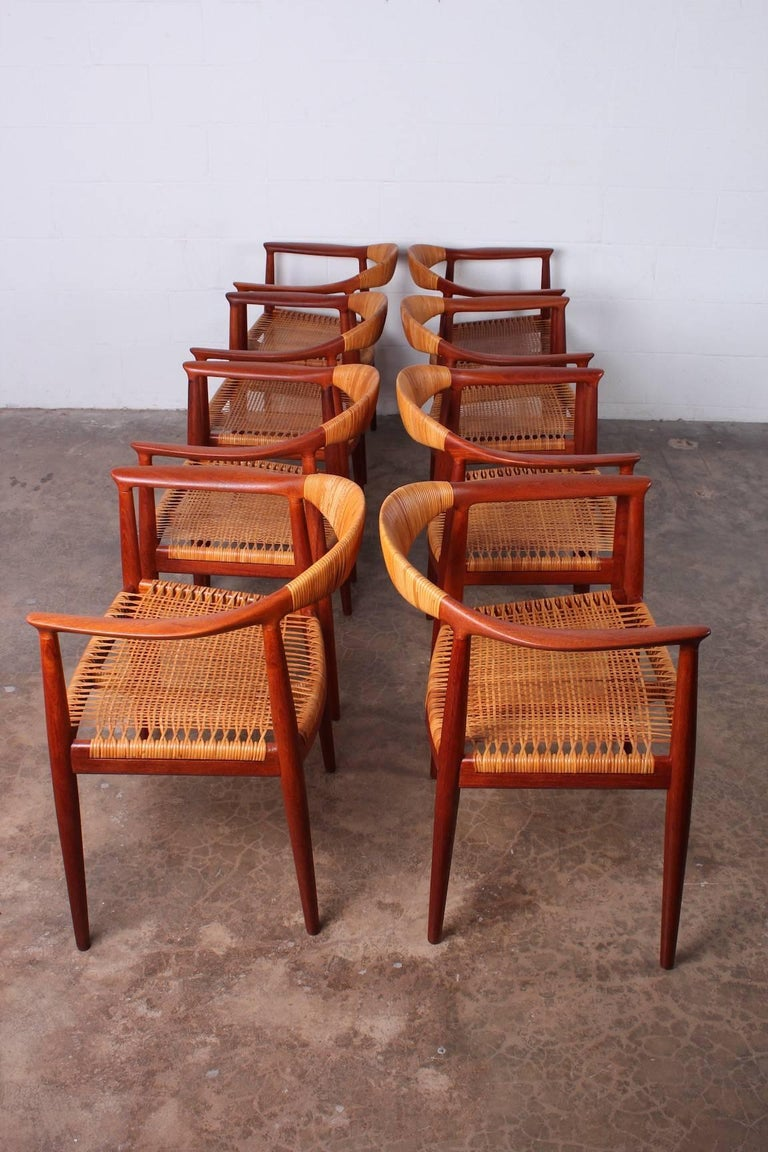 "Set of Eight ""Classic"" Chairs by Hans Wegner for Johannes Hansen 4"