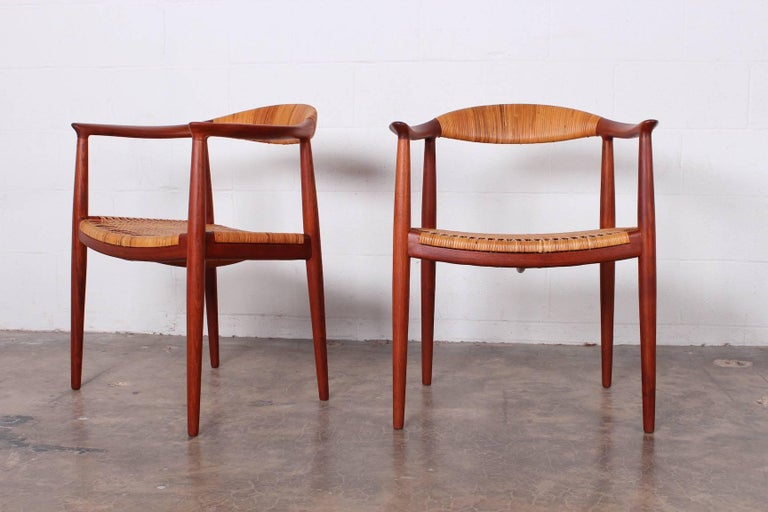 "Set of Eight ""Classic"" Chairs by Hans Wegner for Johannes Hansen 6"