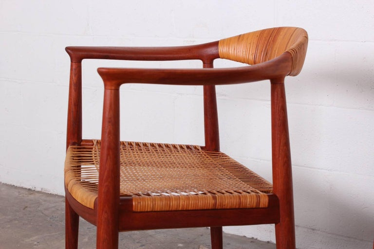"Set of Eight ""Classic"" Chairs by Hans Wegner for Johannes Hansen 8"
