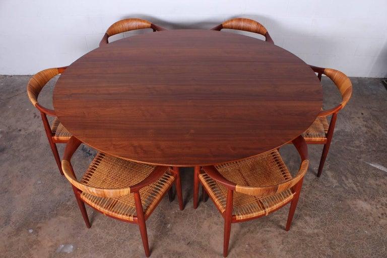 Walnut Drop-Leaf Console Table by Edward Wormley for Dunbar 3
