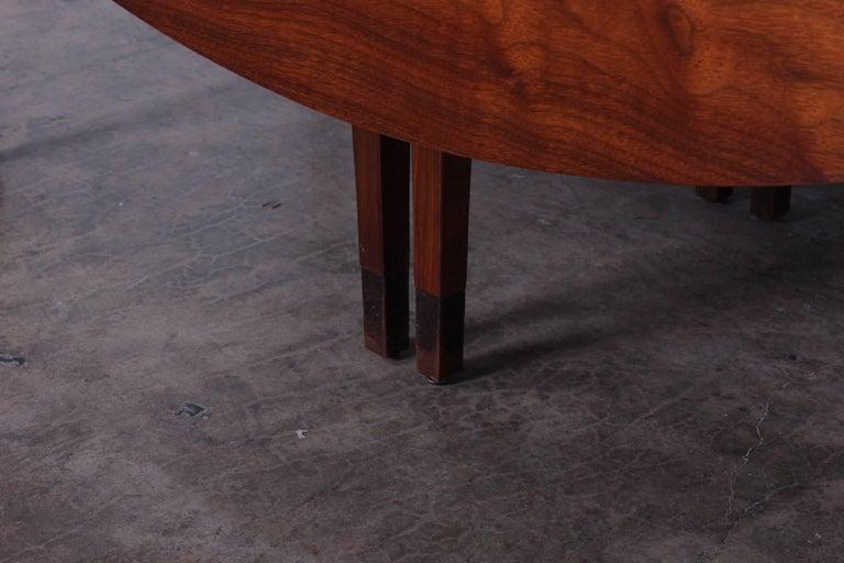 Walnut Drop-Leaf Console Table by Edward Wormley for Dunbar 9