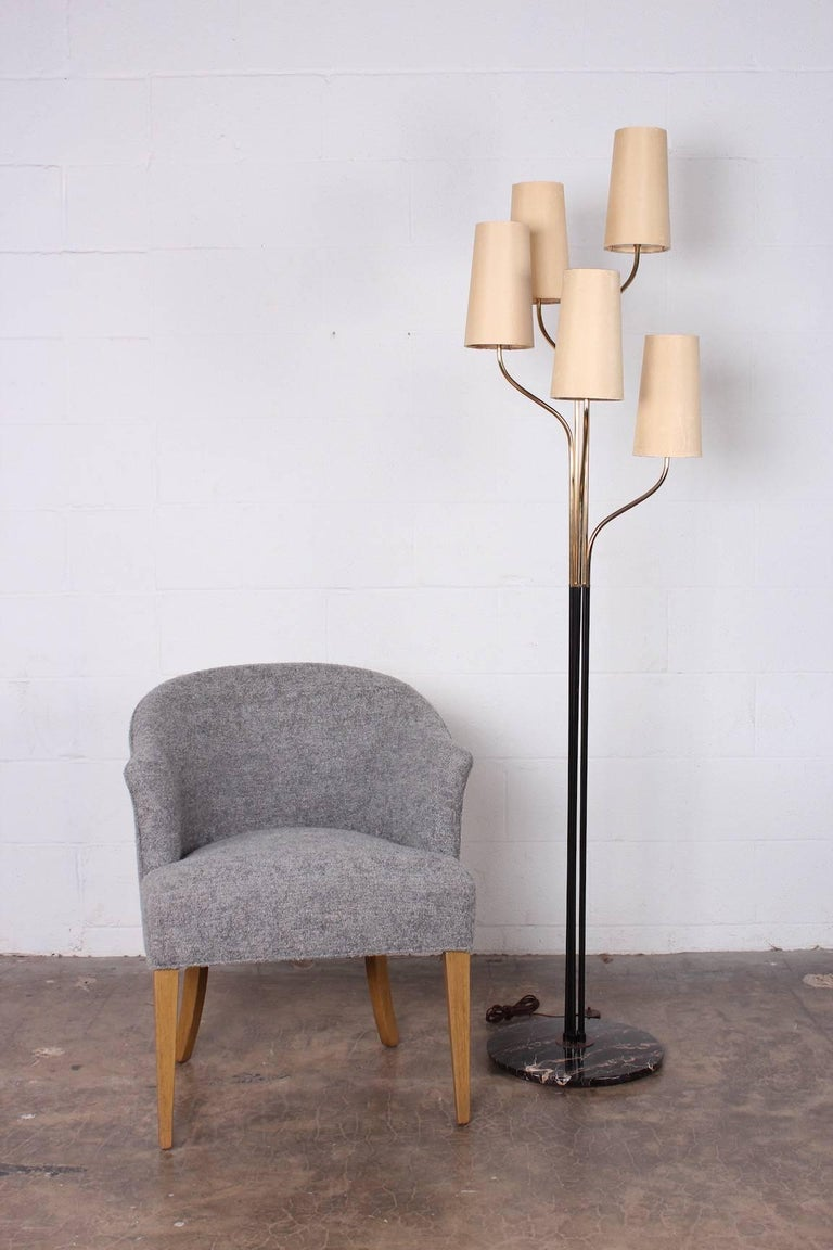 Italian Floor Lamp with Cascading Shades 2