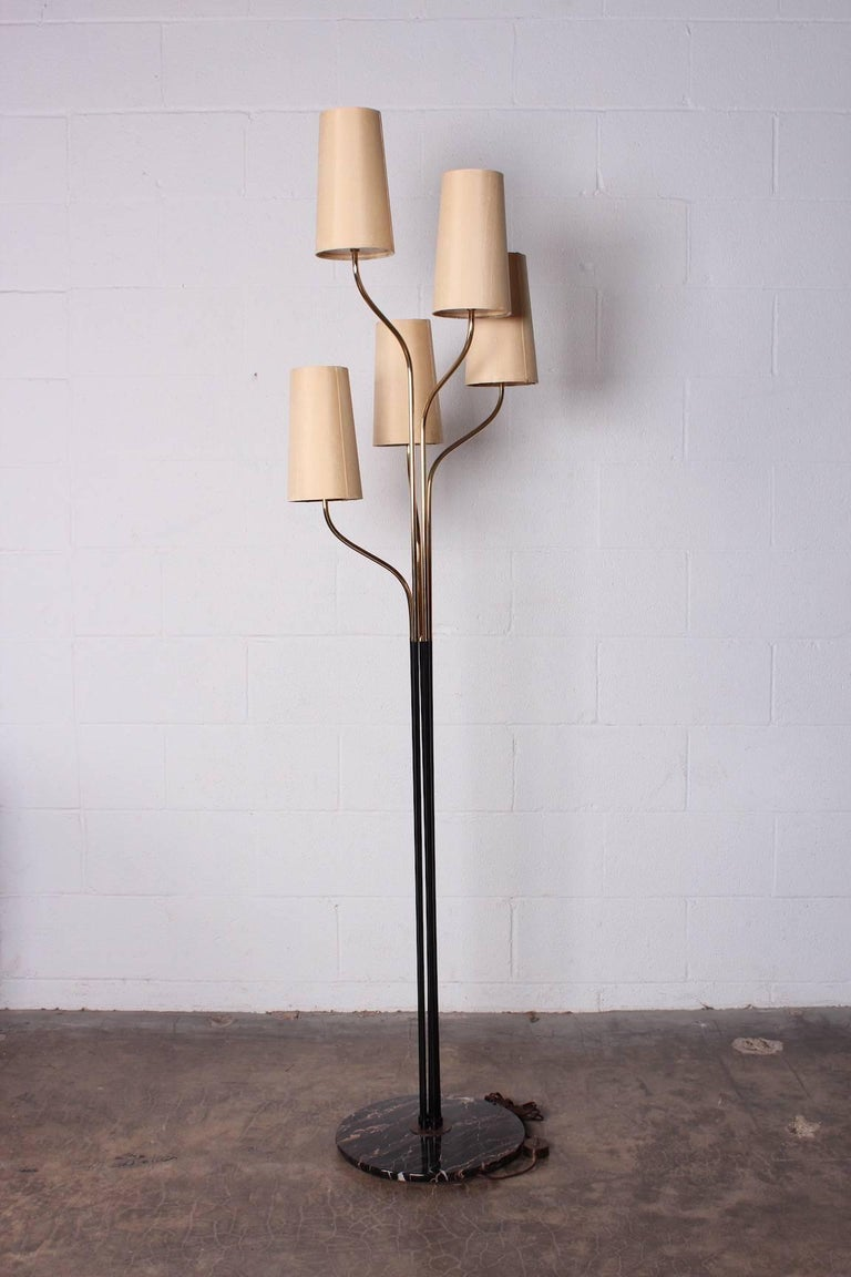 Italian Floor Lamp with Cascading Shades 10