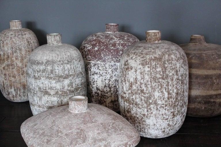 "Claude Conover Square Vase ""Paaxal"" In Excellent Condition For Sale In Dallas, TX"