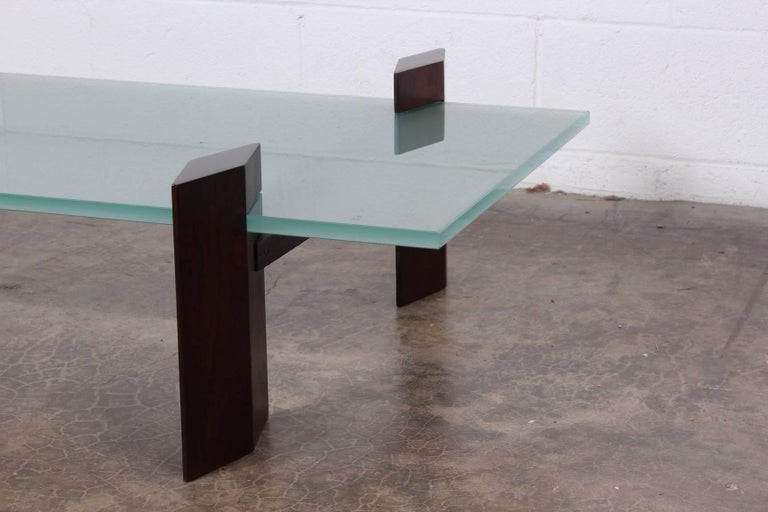 Carlo Hauner Roswood Coffee Table For Sale 1