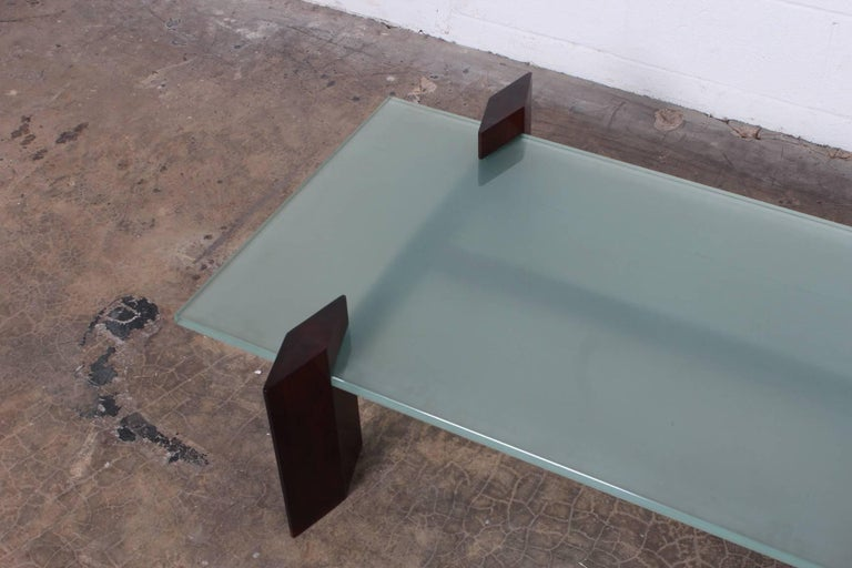 Carlo Hauner Roswood Coffee Table For Sale 2