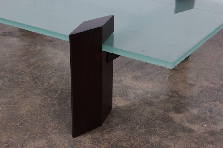 Carlo Hauner Roswood Coffee Table For Sale 4