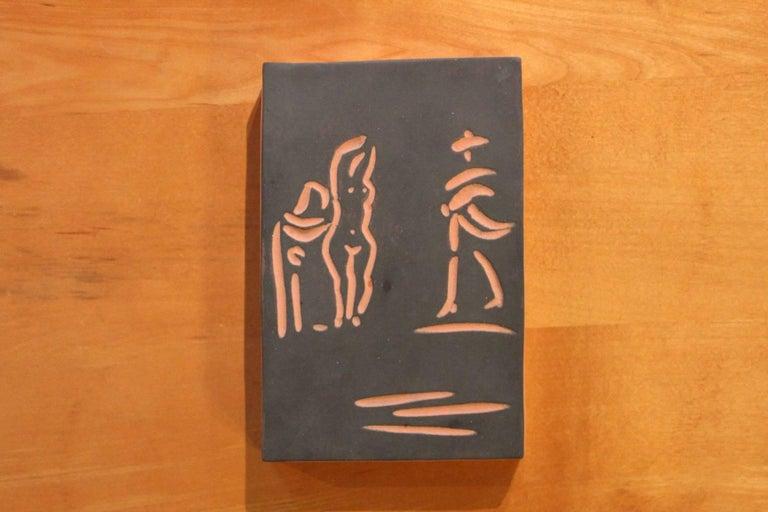 Pablo Picasso, Madoura, Femme ET Toreador, 1968 2