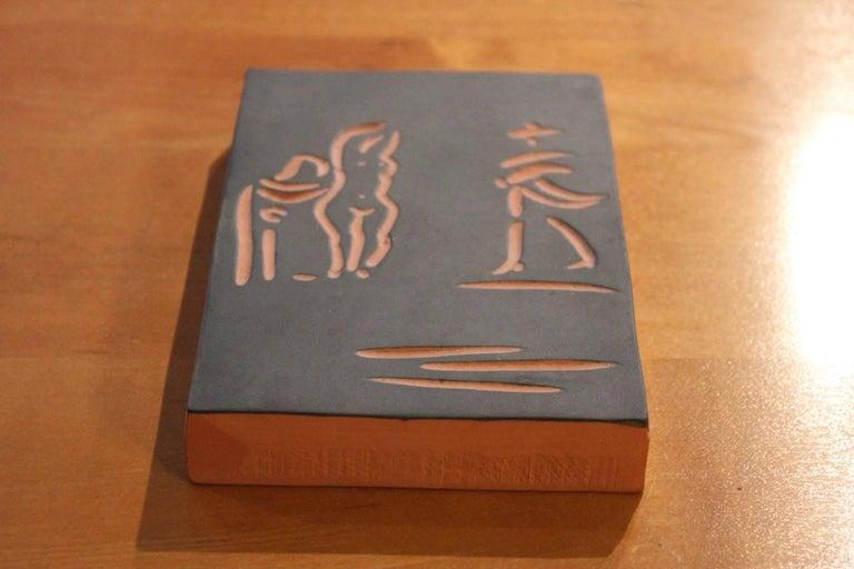Pablo Picasso, Madoura, Femme ET Toreador, 1968 5
