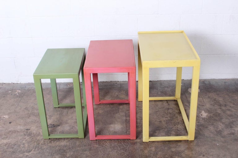 Nesting Tables by Edward Wormley for Dunbar For Sale 3
