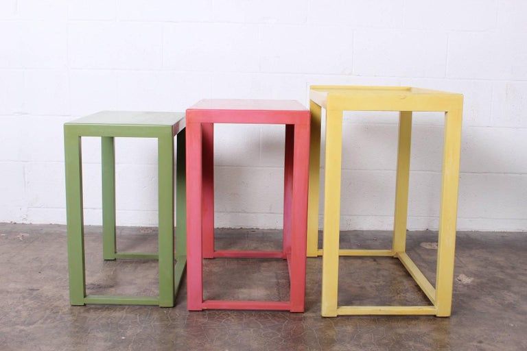 Nesting Tables by Edward Wormley for Dunbar For Sale 4