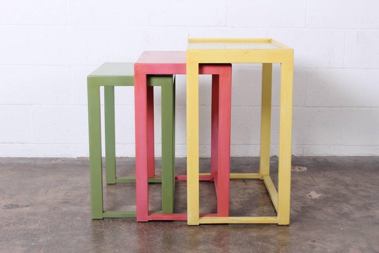 Nesting Tables by Edward Wormley for Dunbar For Sale 5