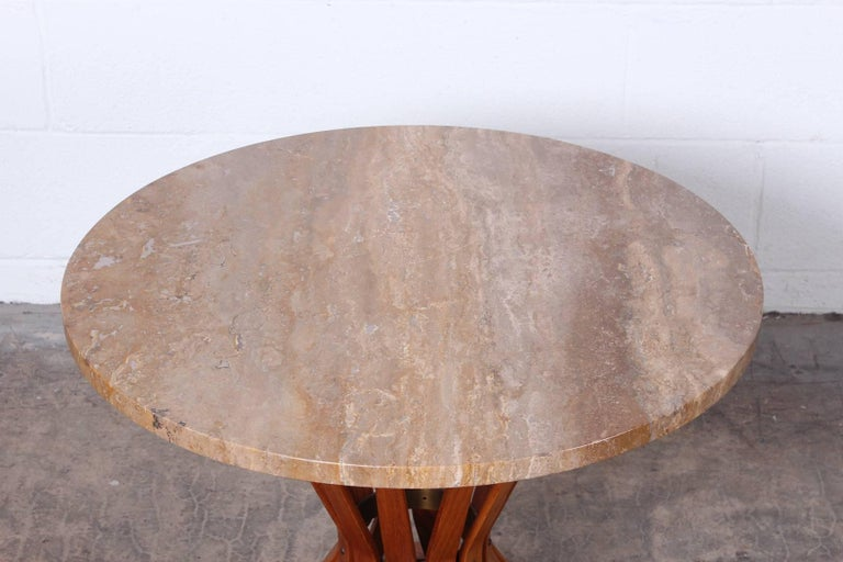 Dunbar Sheaf of Wheat Table by Edward Wormley In Good Condition For Sale In Dallas, TX