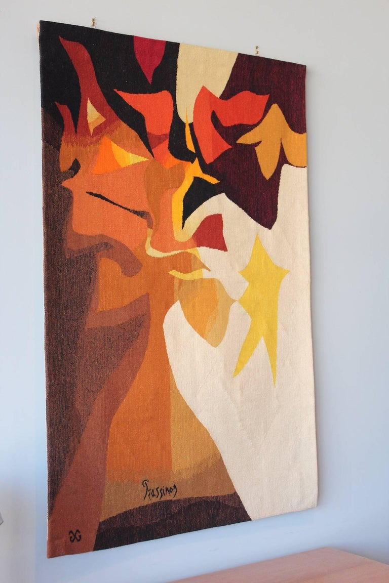 Tapestry by Mario Prassinos For Sale 5
