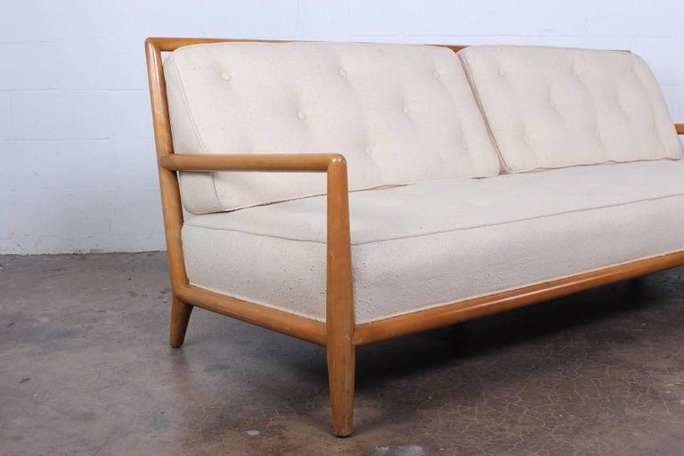 Sofa by T.H. Robsjohn-Gibbings for Widdicomb For Sale 4