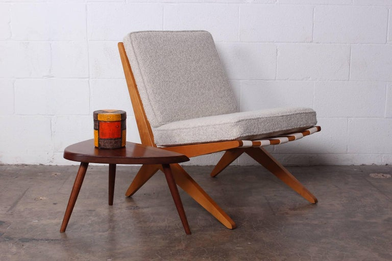 Pair of Knoll Scissor Chairs by Pierre Jeanneret 10