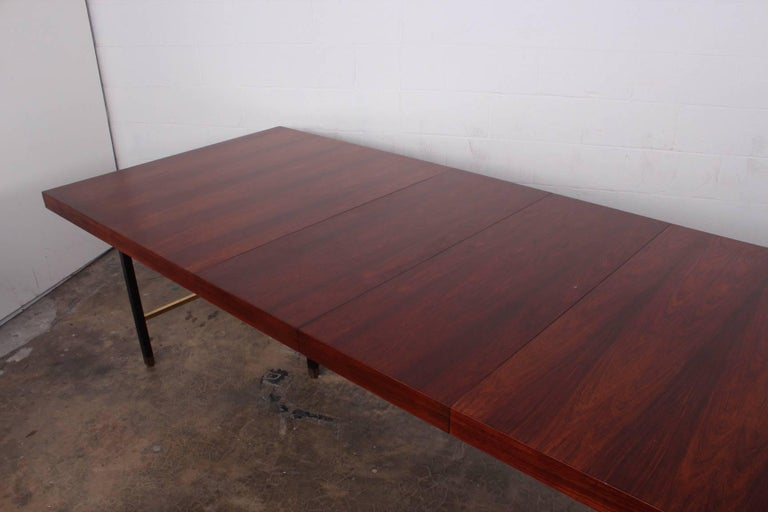 Rosewood Dining Table by Harvey Probber For Sale 3