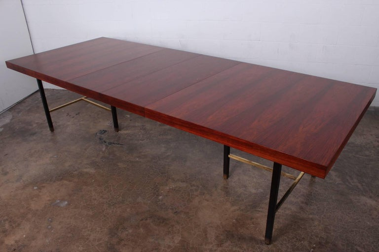 Rosewood Dining Table by Harvey Probber For Sale 2