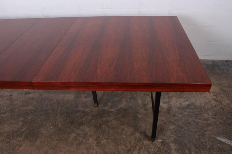 Rosewood Dining Table by Harvey Probber For Sale 1