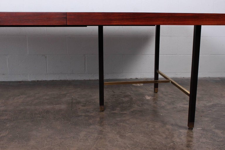 Mid-20th Century Rosewood Dining Table by Harvey Probber For Sale