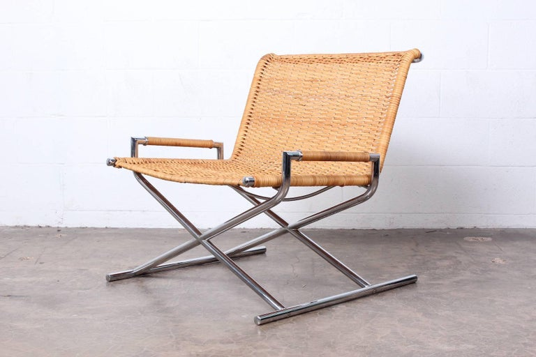 Ward Bennett Sled Chair In Good Condition For Sale In Dallas, TX