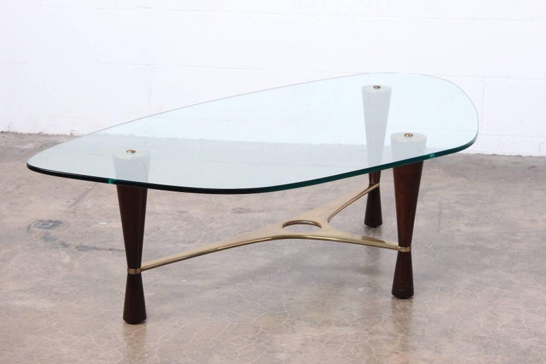 Model 5309 Coffee Table by Edward Wormley for Dunbar For Sale 7