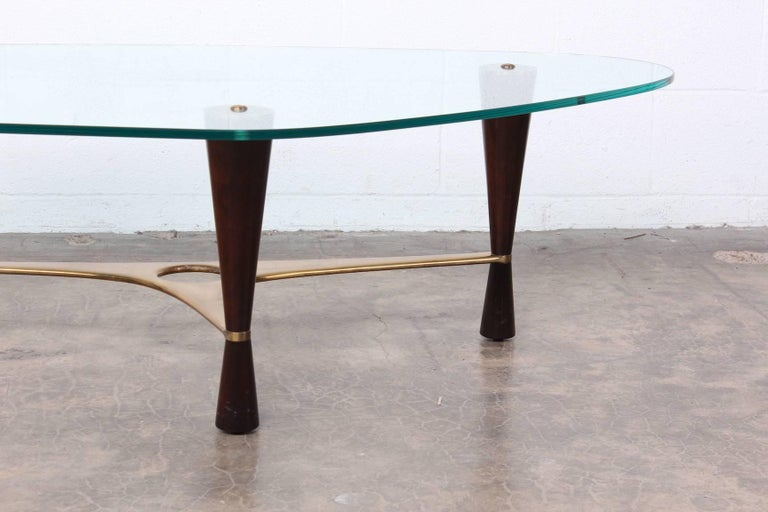 Mid-20th Century Model 5309 Coffee Table by Edward Wormley for Dunbar For Sale