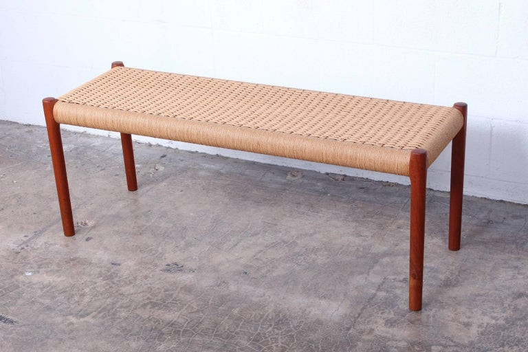 Mid-20th Century Bench by Niels O. Møller For Sale