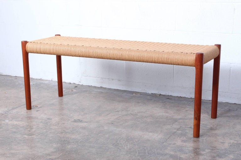 Bench by Niels O. Møller For Sale 1