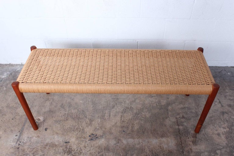 Bench by Niels O. Møller For Sale 2